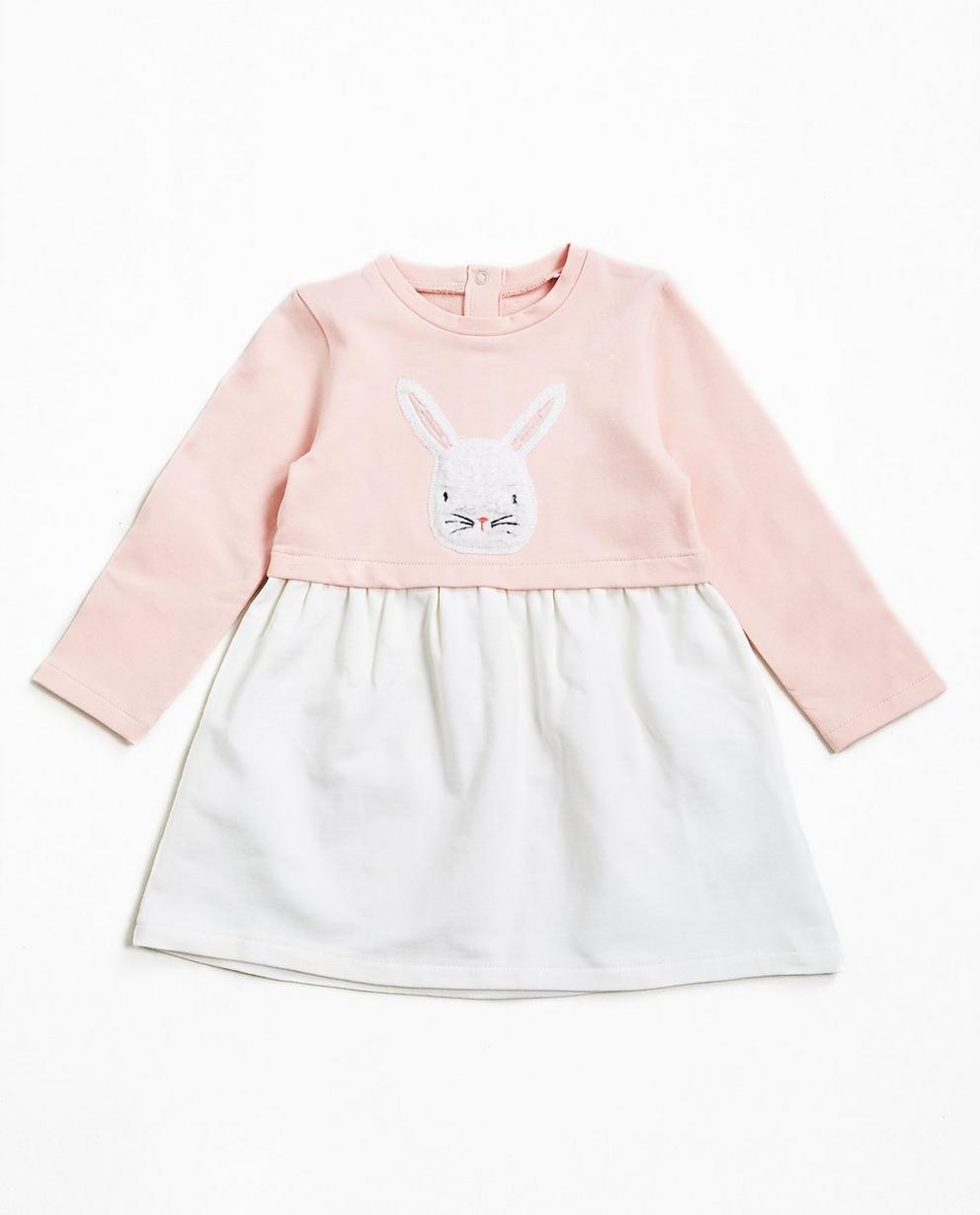 Nachthemd mit Kaninchen - mit zweiteiligem Look - JBC